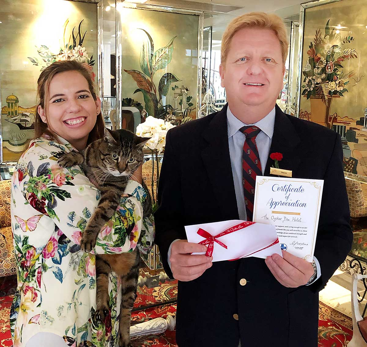 Pet-fiendly hotel supports SPCA